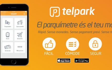 Empark llança la nova versió de Telpark, l'aplicació de pagament per mòbil